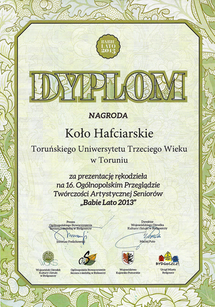 Dyplom BabieLato2013
