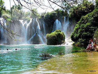 Wodospady  Kravica 8