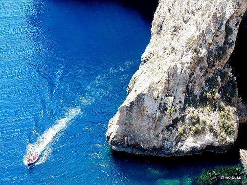 Malta Błękitne groty