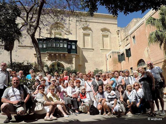 Valletta-Dziedziniec pałacu W. Mistrza 2